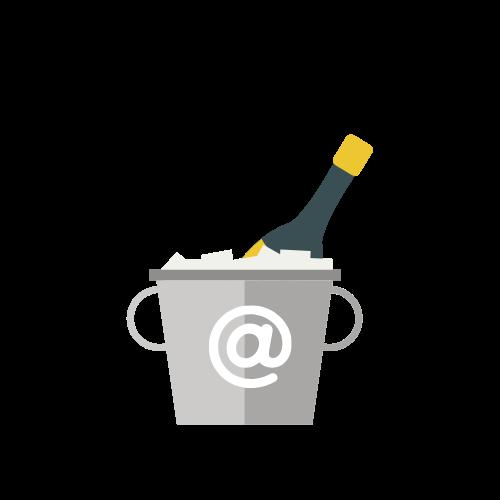Champagne internet